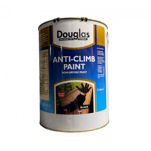 Douglas Anti-Climb Paint Black 5ltr