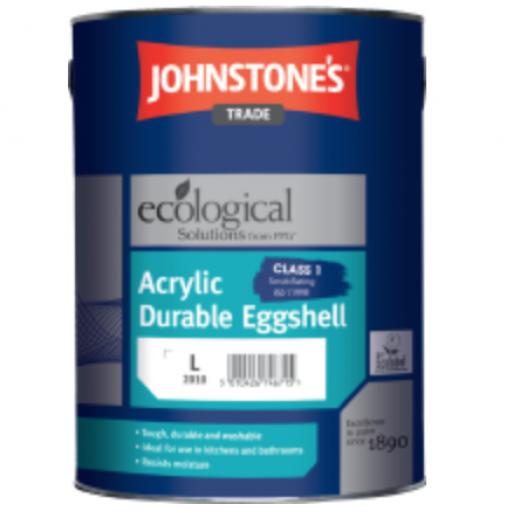 Johnstone's Acrylic Durable Eggshell 2.5ltr