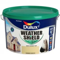Dulux Weathershield Masonry Colours Paint 10L