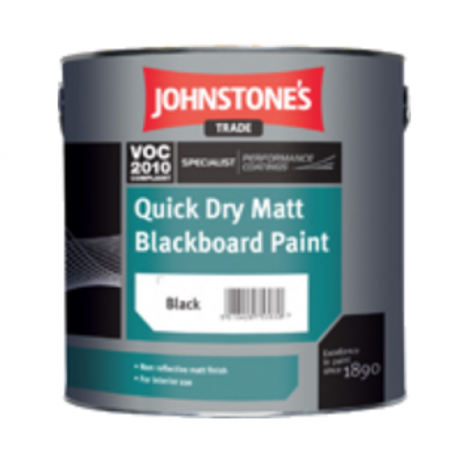 Johnstone's Quick Dry Matt Blackboard Paint