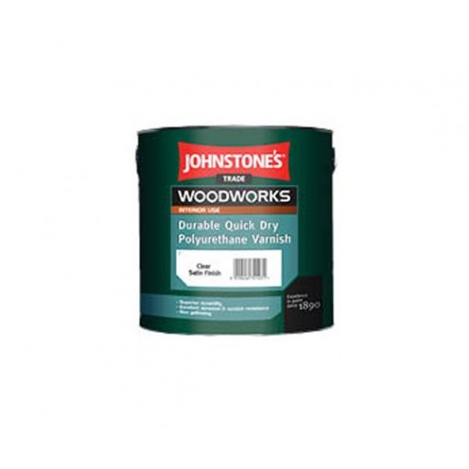 Johnstone's Polyurethane Quick Drying Varnish 750mls